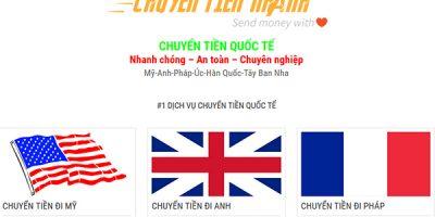 Chuyển tiền quốc tế về Việt Nam