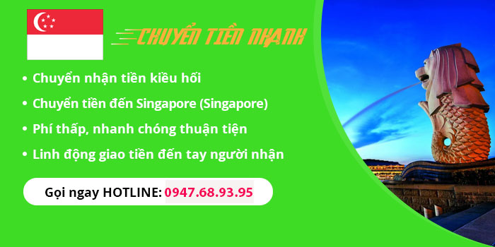 chuyen tien sang singapore