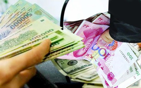 Chyển tiền từ Trung Quốc về Việt Nam