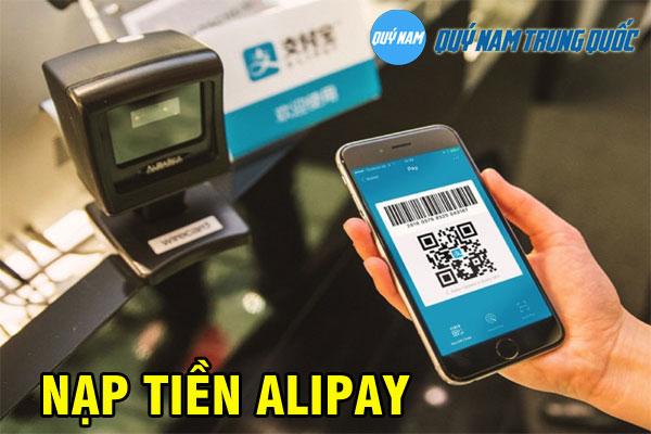 Nạp tiền, chuyển tiền Alipay đơn giản, an toàn