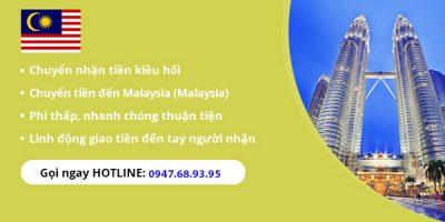 Cách chuyển tiền từ Việt Nam sang Malaysia