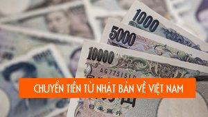 Chuyển tiền từ Nhật về Việt Nam