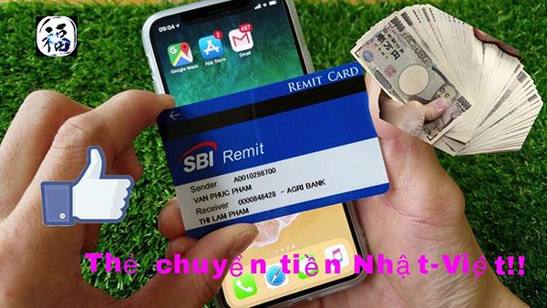 Thẻ chuyển tiền Nhật