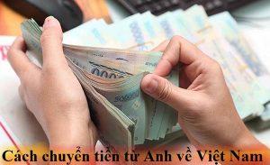 Chuyển tiền từ Anh về Việt Nam