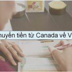 Gửi tền từ Canada về Việt Nam