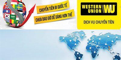 Cách nhận tiền qua Western Union và Moneygram