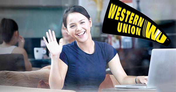 chuyển tiền quốc tế Western union