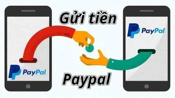 Gửi tiền Paypal