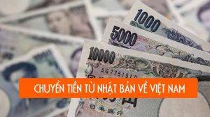 Chuyển tiền từ Nhật sang Việt Nam