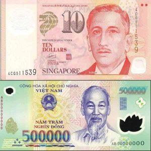 Tỷ giá đô la Singapore